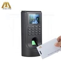 Biometric Fingerprint Access Control And 125KHZ RFID Card TCP/IP Standalone Fingerprint Door Access Control Time Attendance F805