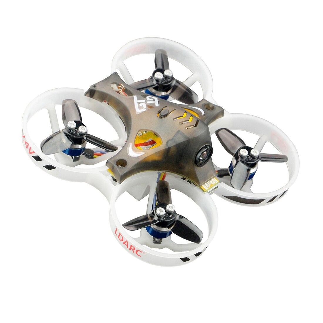 Nuevo LDARC pequeño GT7 75mm/GT8 87,6mm Mini FPV RC Racer Quadcopter Betaflight F3 10A Blheli_S 800TVL Cam 5,8G 25mW VTX 2S PNP BNF