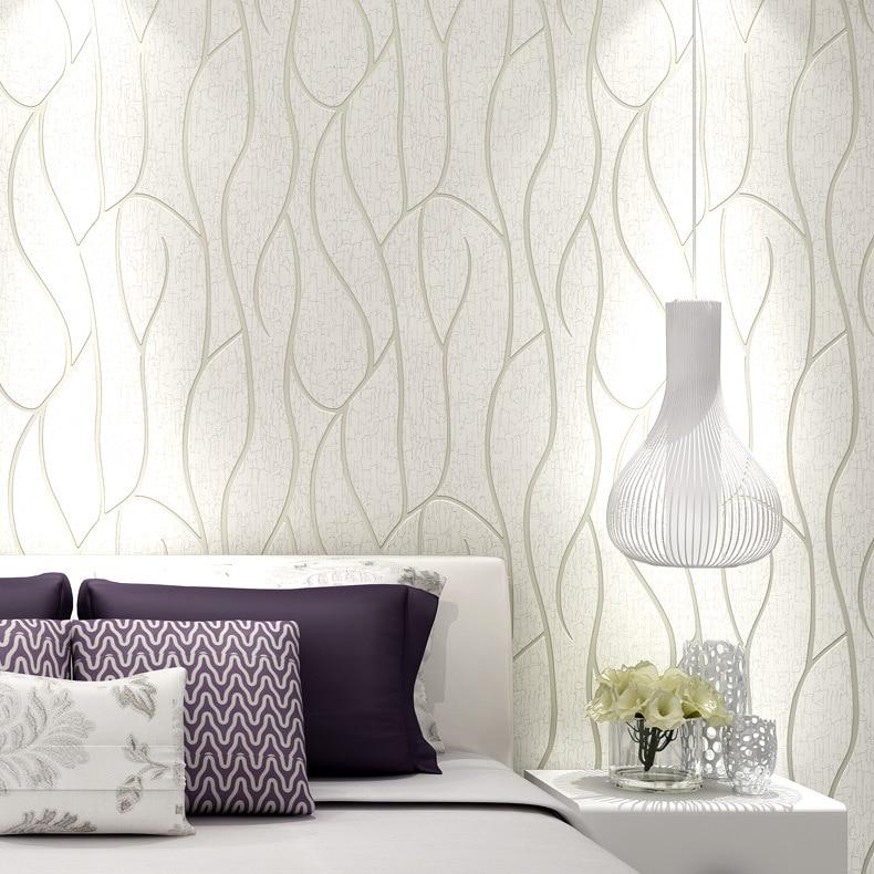 Rollo de papel de pared de rayas curvo abstracto Bacaz para el fondo del sofá de la sala de estar rollos de papel de pared 3d