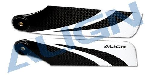 Align Trex 115 Carbon Fiber Tail Blade HQ1150B Trex 800 Ricambi Trasporto Libero con Linseguimento