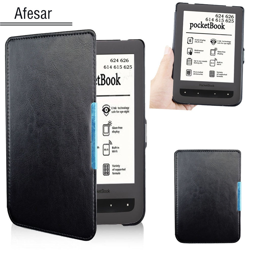 For PocketBook 624 626 Case Cover Basic touch Lux 2 eReader pouch leather bag case also Fit Model 61
