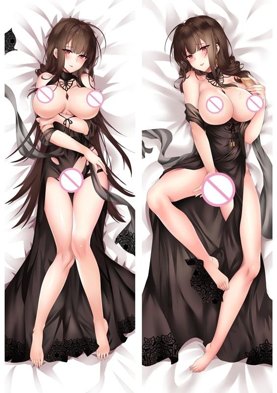 MMF популярная игра для девочек, аниме персонажи suomi & hk416 наволочка для подушки wa2000 Dakimakura dsr50