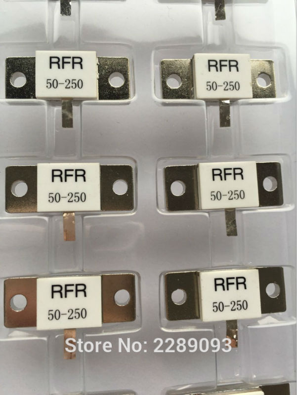 送料無料100%新しいオリジナルRFR50-250 rfr 50-250 RFR-50-250 50オーム250ワット