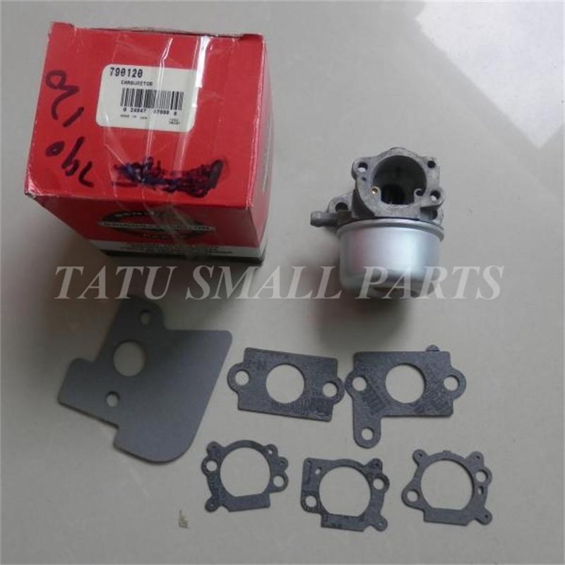 Carburateur authentique ASY BRIGGS & STRATTON 790120 convient à larbre VERTICAL B & S 6.0 6.5HP 7HP OHV moteurs 694202 693909 692648 499617