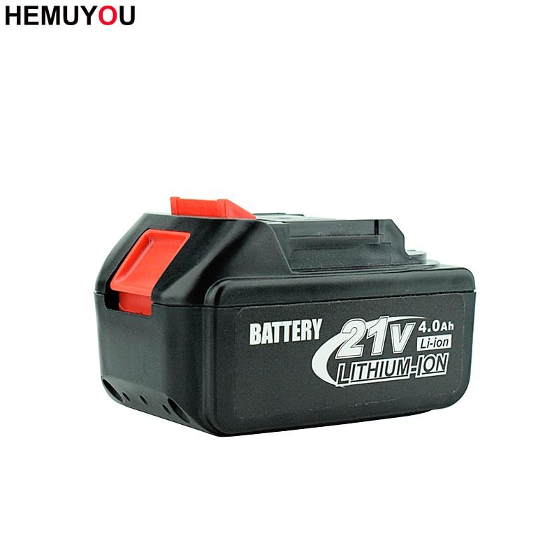Сверхемкая перезаряжаемая литий-ионная батарея для электрической отвертки 21 в может использоваться в электрической дрели бытовые электроинструменты