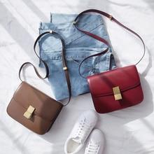 VENOF Fashion Split Leather Women Shoulder Bag Simple Female Crossbody Bags Terse Ladies Messenger Bags Brand bag For Women 2018