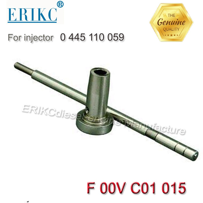 Válvula de combustible ERIKC assy F00V C01 015 generador válvula de combustible F ooV C01 015 Válvula de apagado automático F00VC01015