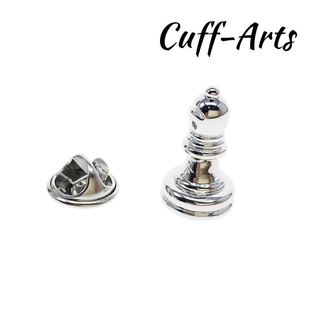 Pin de solapa para hombres obispo ajedrez placa orgullo pins broche hijab esmalte broche insignia de gato con la caja de regalo por Cuffarts P10230