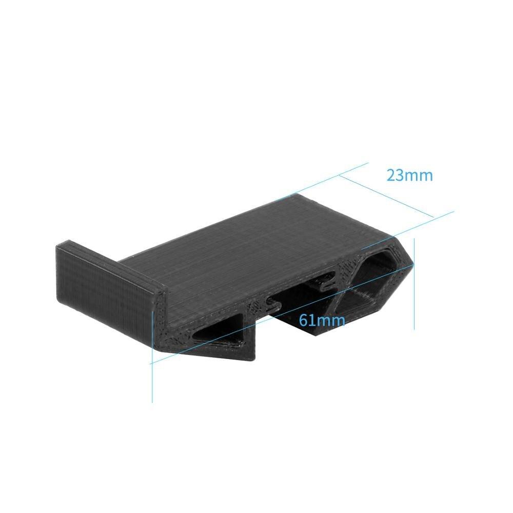 Assento do suporte do patim da aterragem da bateria de tpu para fpv que compete o zangão 110-130mm 2-4 s lipo bateria 550 mah-850 mah