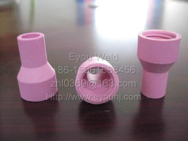 100pc,  QQ150A QS-150A TIG welding torch Alumina Nozzle Consumables 9*30 (QQ-150A)