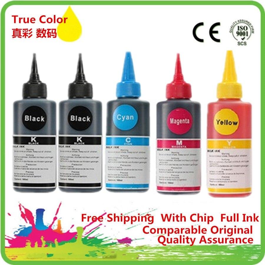 PGI-425BK специализированные краски для многоразовый СНПЧ картридж для Canon PIXMA IP4840 IX6540 MG5140 MG5240 MX884 принтера