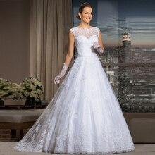 Pas cher 2016 chaude dentelle robe de mariée les robes de ligne de mariage Sexy voir à travers de robe de mariée robe de mariée