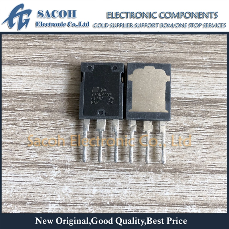 Frete Grátis 5 Pcs STY30NK90Z Y30NK90Z Max247 26A Zener 900 V-Protegida SuperMESH MOSFET