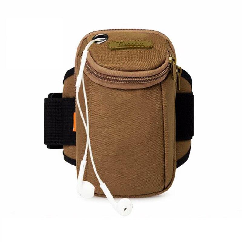 Новинка 2018, стильная камуфляжная мужская сумка для бега, спортивная сумка на руку для улицы, многофункциональная холщовая спортивная сумка ...