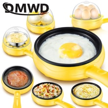 DMWD multifonction Mini électrique oeuf Omelette cuiseur oeufs chaudière alimentaire vapeur crêpe frit Steak antiadhésif poêle 110V 220V