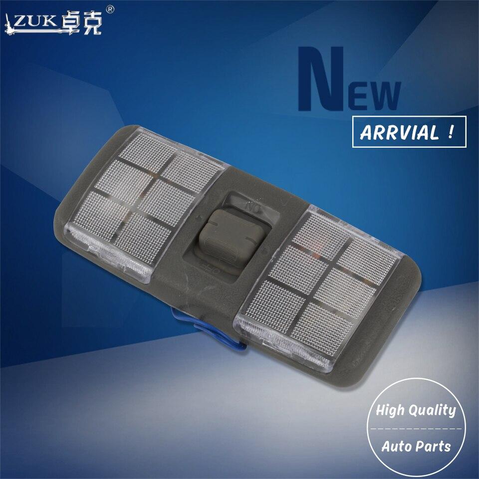 Lámpara de lectura para techo interior de coche ZUK para Mitsubishi Pajero Shogun Montero V31 V32 V33 V43 1990-2001 2002 2003 MB774928