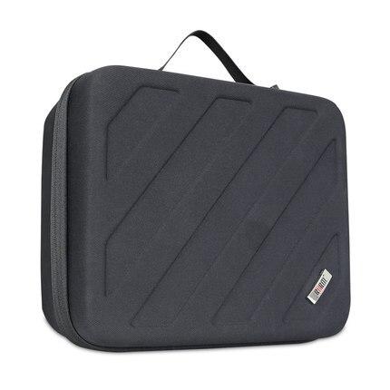 Bolso de cámara BUBM, Estuche Duro, bolsa receptora de carta, estuche para almacenamiento portátil de vídeo, estuche negro