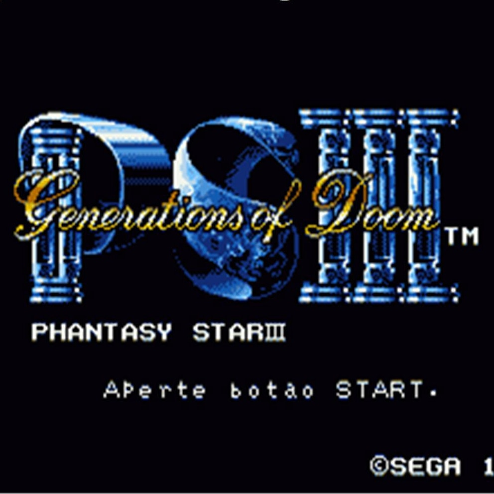 Phantasy Star 3 16 poco tarjeta de juego MD para Sega Mega...