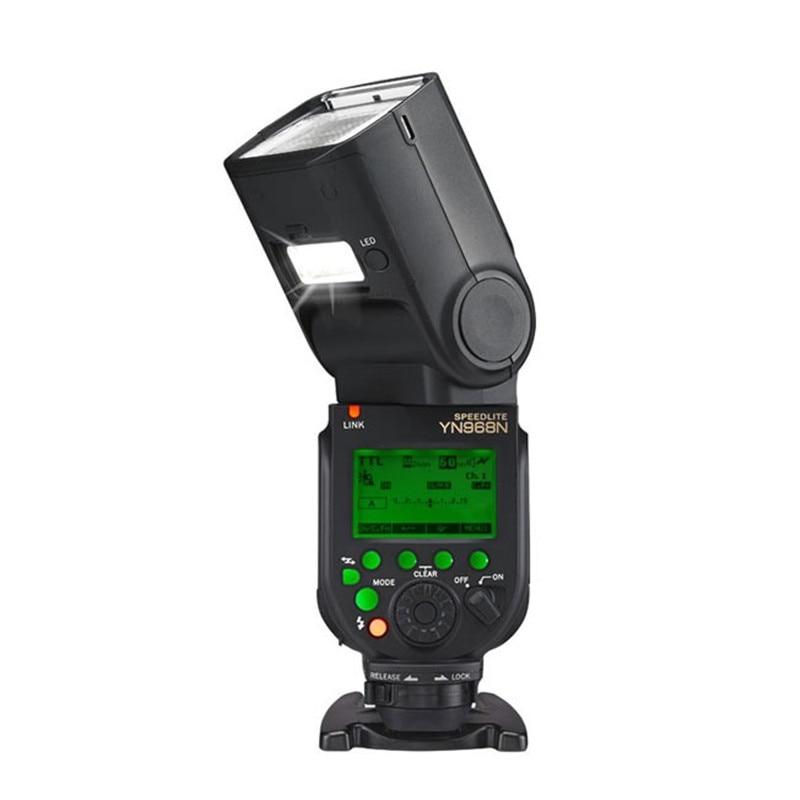YONGNUO YN968N Wireless Flash Speedlite Equipped with LED Light YN968 TTL Flash for Nikon DSLR Camera Fit YN622N YN560-TX RF603