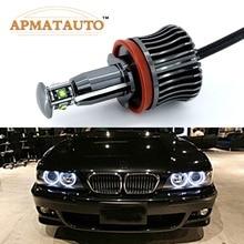 Ampoules lampes marqueurs pour BMW E60 E61 E70 E71 E90 E92 E93 X5 X6 Z4 M3   Puces H8 sans erreurs 40W 2400lm XPE,