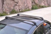 1 סט עבור שברולט Cruze 2008-2014 שחור סגסוגת אלומיניום גג Rack צלב בר