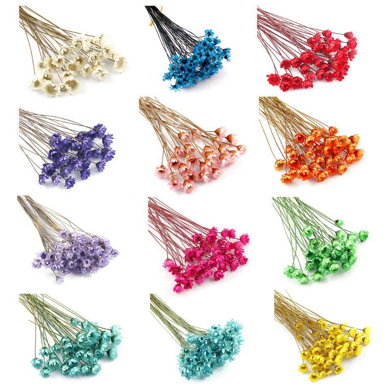 12 unids/pack epoxi de cristal molde de pegamento UV Mini Daisy flor anillo de pulsera de uñas arte Manual bricolaje carcasa móvil Cra