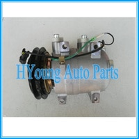 make cool auto ac Compressor for Hitachi Hyundai excavator DKV-14C 1GA 102mm 24v 5060216413 5060217082