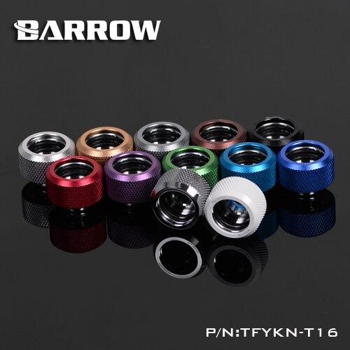 Barrow TFYKN-T16 OD 16mm accesorios de tubería rígida Multi enlace adaptador Multi Color opciones PC refrigeración por agua