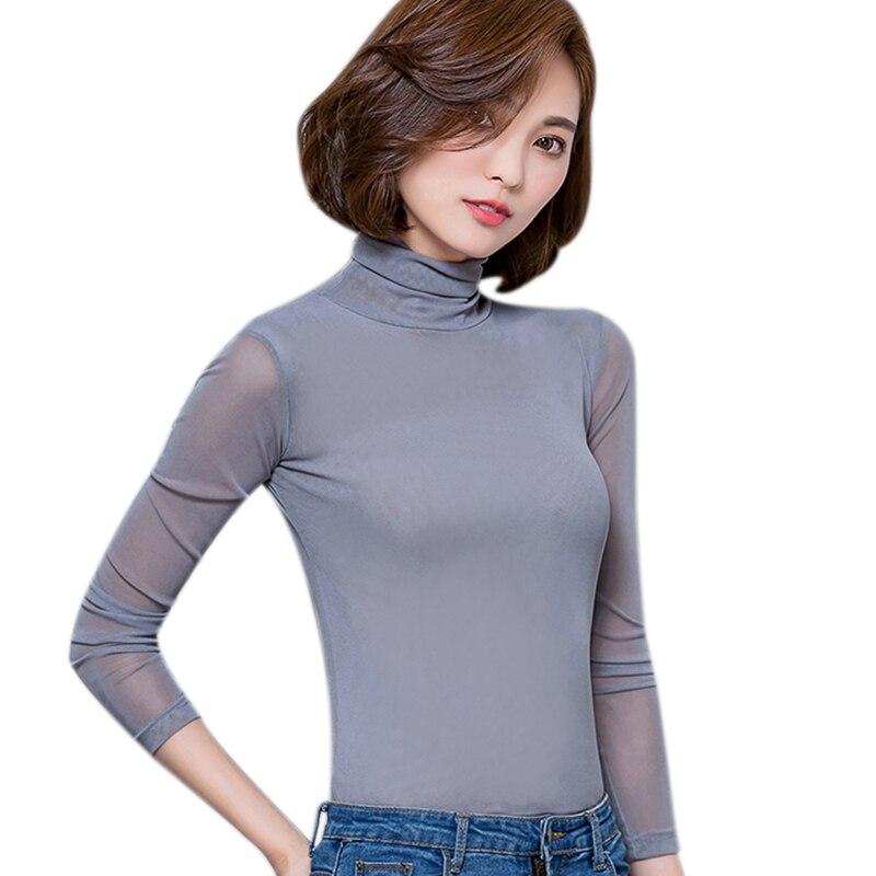 Camisa de manga larga para mujer, tops chemise de talla grande, blusas para mujer 2020, Blusa de encaje sexy, blusas y camisas para mujer, camisa femenina