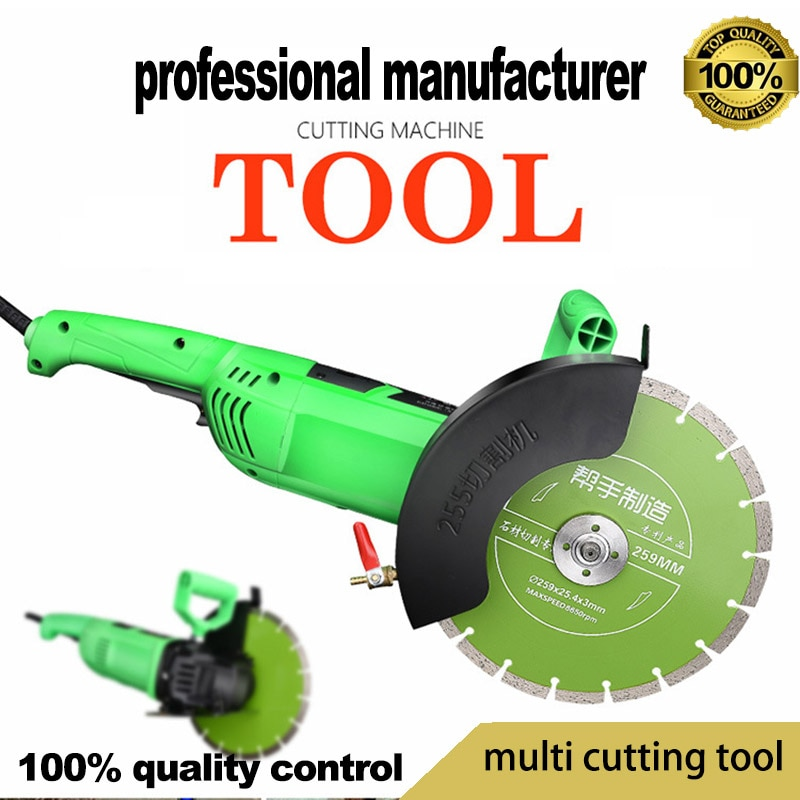 15% off new arriaval Multifunctional wood saw wall slot machine tile stone handheld cutting machine high power angle grinder