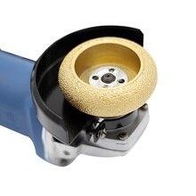 Бесплатная доставка паз шлифовальный пайки Алмазный электрический шлифовальный инструмент полукруг вогнутый слот