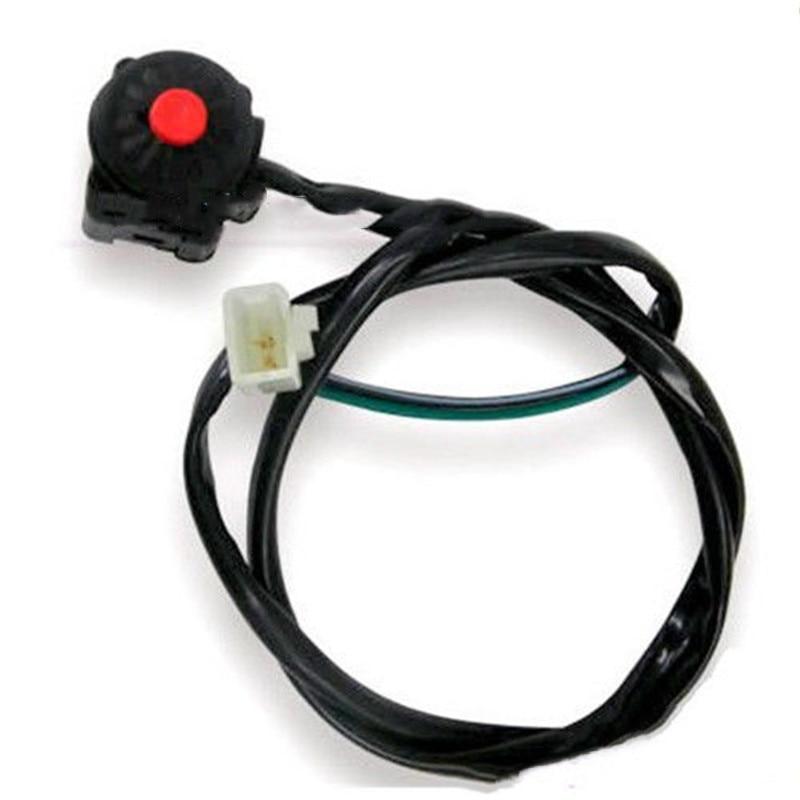 "Motocicleta Blaclk 7/8 ""manillar matar interruptor para Honda CRF 50 XR50 CRF50 125 Pit Bike personalizado"