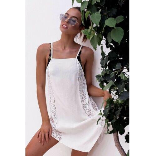 Women Bikini Cover Up Swimwear Summer Beach Wear Off Shoulder Dress Push Up Padded Swimwear Swimsuit Beachwear Pluz Size