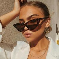 cat eye shade for women fashion sunglasses brand woman vintage retro triangular cateye glasses oculos feminino sunglasses Sexy