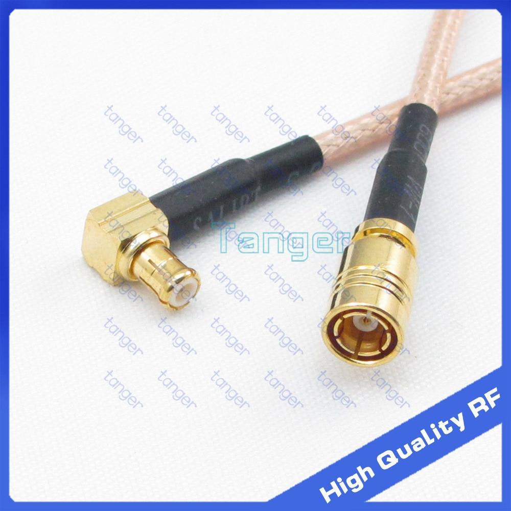 Tanger SMB female jack mcx-stecker rechtwinklig mit 20 cm 8 inch RF RG316 Hf-koaxial-kabel Low Loss kabel Hohe qualität