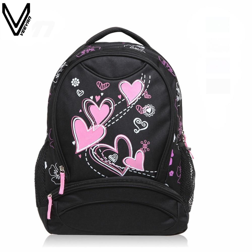 VEEVANV, gran oferta 2017, mochilas de escuela para niñas, mochila estampada para mujeres, mochila de hombro barata, venta al por mayor, mochilas para niños