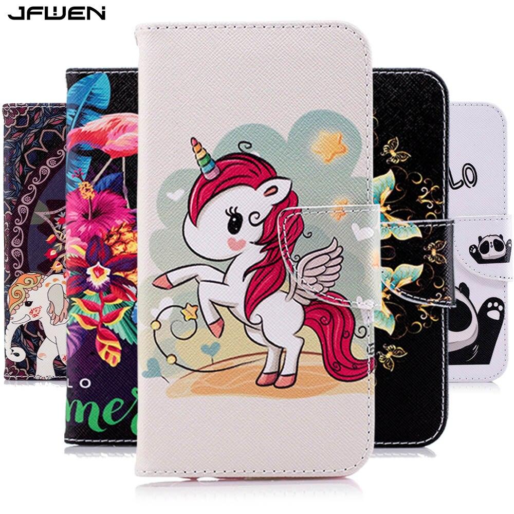 JFWEN, Funda de cuero para iphone X 7 8 6 6S Plus XS Max XR, funda con billetera abatible, fundas de teléfono para iphone 5 5S SE 6 7 8 Plus X, funda