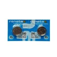 2pcslot renata long lasting 390 sr1130sw 389 lr54 ag10 watch battery