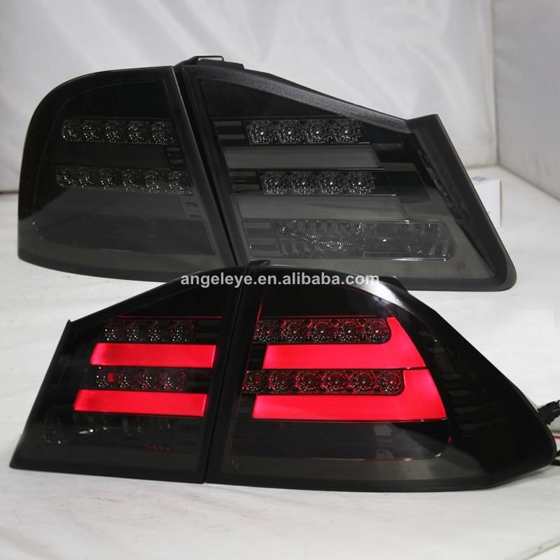 Para HONDA para Civic luz trasera LED 2006 a 2010 año negro ahumado Color TW
