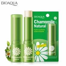 Maquillaje de labios Super vitamina hidratante labios orgánico Manzanilla Natural bálsamo labial pegatina diluir Color de labios marca BIOAOUA