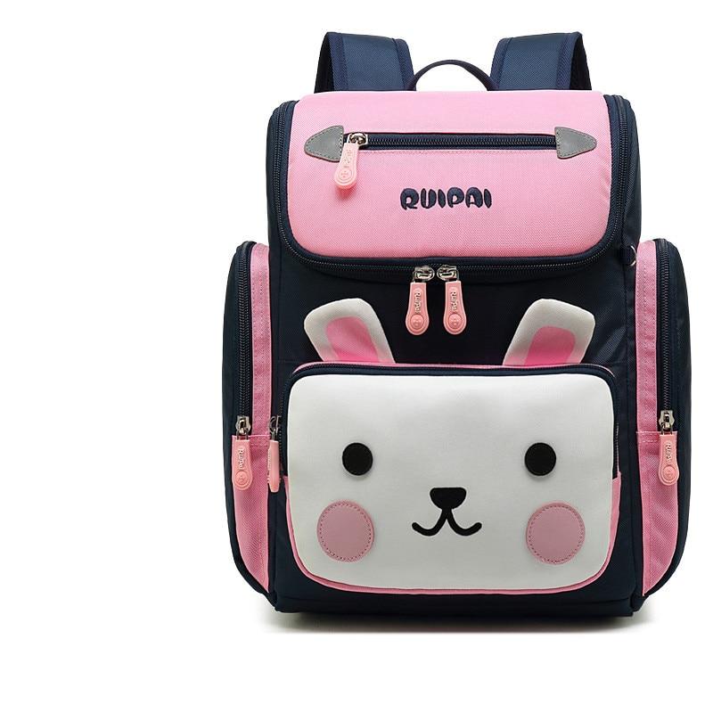 Новая школьная сумка с рисунком для девочек, водонепроницаемый ортопедический рюкзак для детей, рюкзак для начальной школы, Mochila Infantil