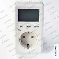 Saving Energy Mini WATT Electricity Power Energy metercurrent power factor meter 4mm round plug EU Version D02B