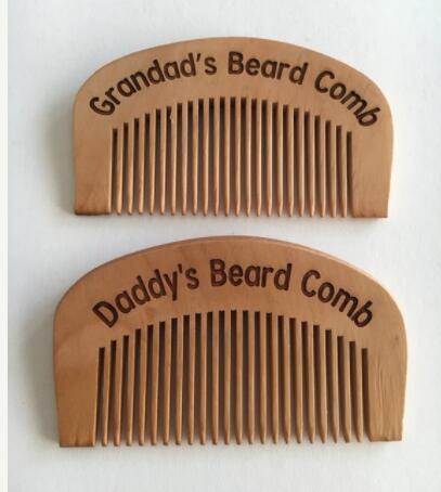 Peines de barba personalizados para el Día de San Valentín con cualquier texto de boda, peines para el pelo grabados personalizados para cumpleaños, regalos de navidad