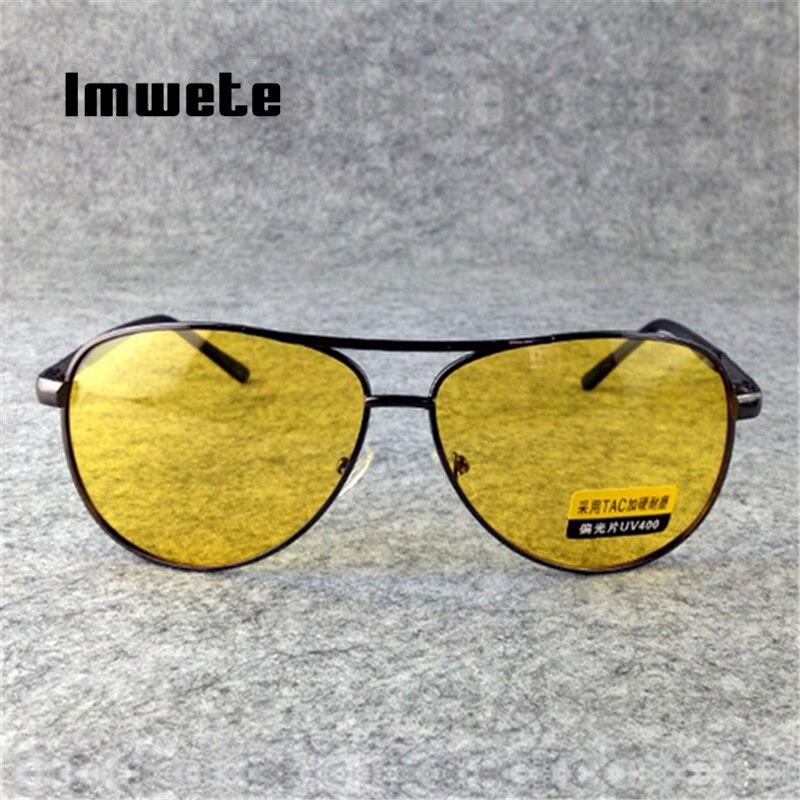 Imwete Night Vision Driving Glasses Polarized Sunglasses Men Women Goggles Driver Yellow Sun Glasses