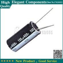 Электролитический конденсатор, 5 шт., 400 В, 150 УФ, 150 УФ, 400 В, 400 В/150 УФ, Размер 18*35 мм, алюминиевый электролитический конденсатор