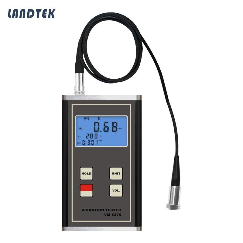 Medidor de Vibraciones Digital VM-6370 Desplazamiento de desbalance de maquinaria móvil