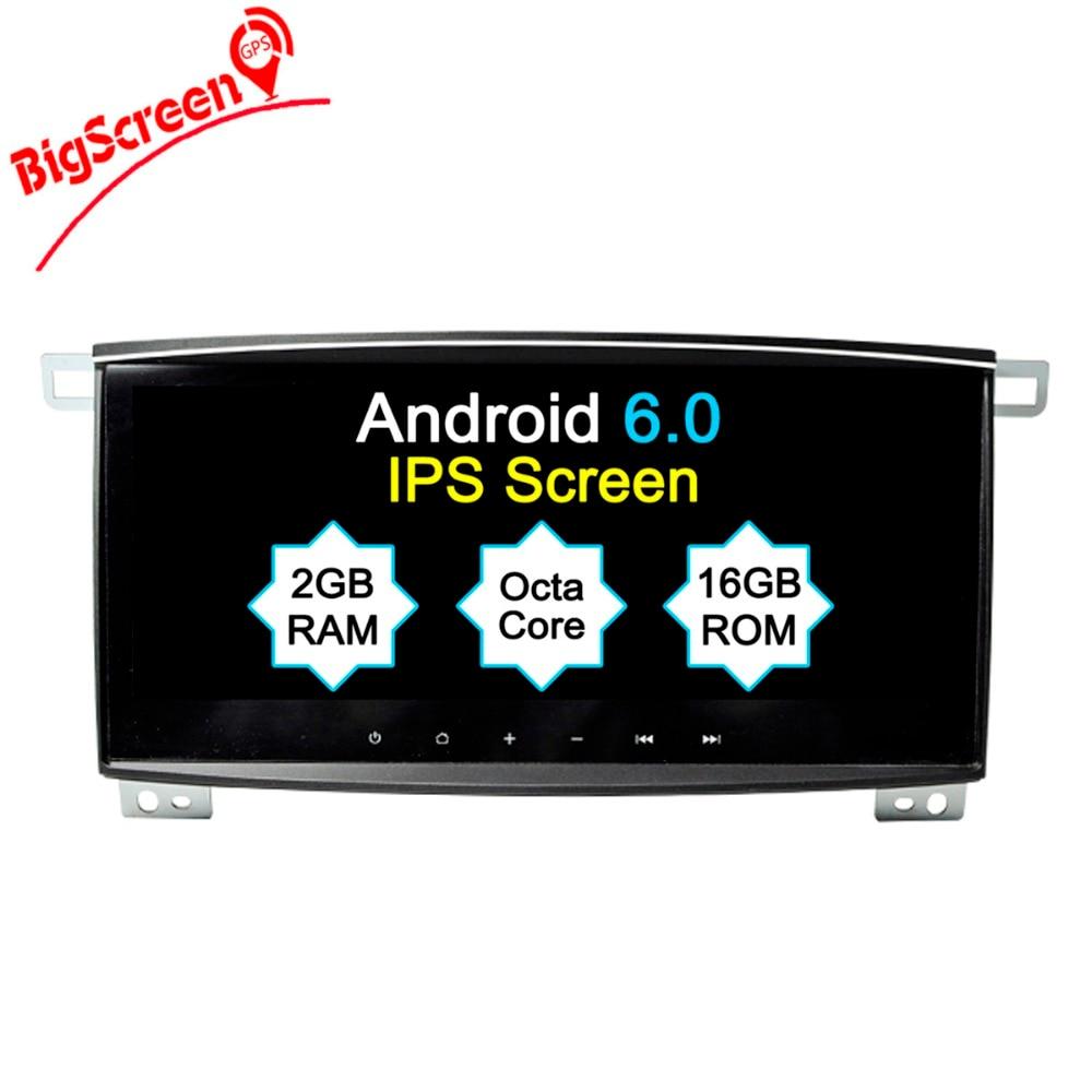 "BigScreen 10.2"" IPS 2GB RAM Quad Core Android 6.0 CAR DVD Player For Toyota Land Cruiser 100 LC100 2006 2007 Radio GPS Navi wifi"