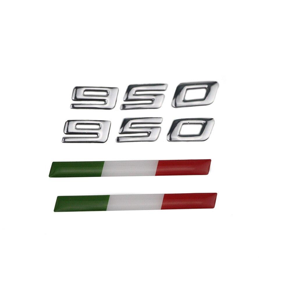 KODASKIN Мотоцикл 3D эмблема Raise Наклейка для Италии 2017 Ducati Multistrada 950