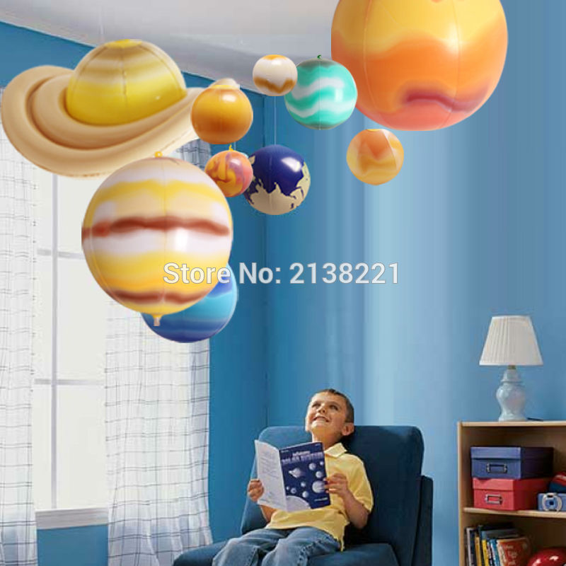 Надувные шары, обучающая модель, 10 шт./компл.