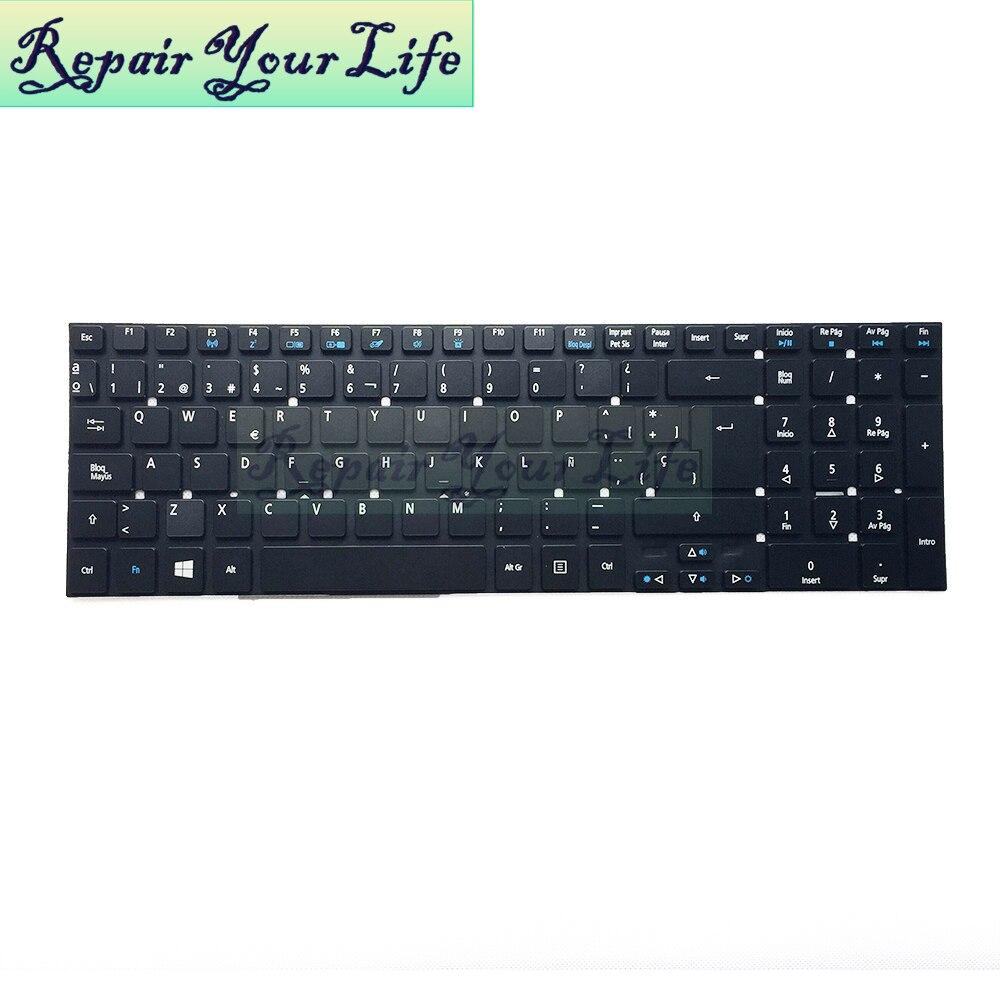 Reparación de la vida teclado del ordenador portátil para Acer para Aspire para Nitro VN7-791 VN7-791G serie SP diseño retroiluminada impresión original